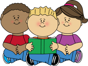 children-reading-center-clip-art